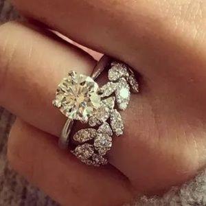 Jewelry - White Sapphire Engagement ring